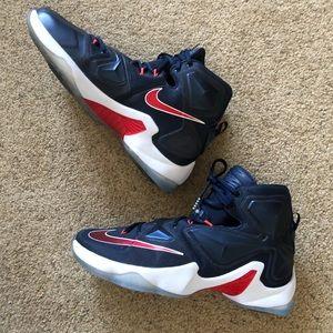 Nike LeBron James Thirteen Akronite shoes